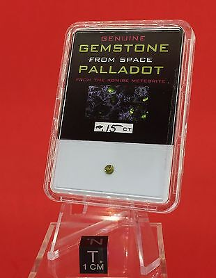 Palladot™ Pallasitic Peridot ~ .15ct Gemstone From Accommodation by Meteorite Men Steve