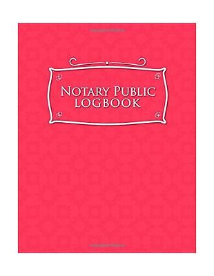 Notary Public Logbook Notary Booklet Notary Public Journal Template Notary