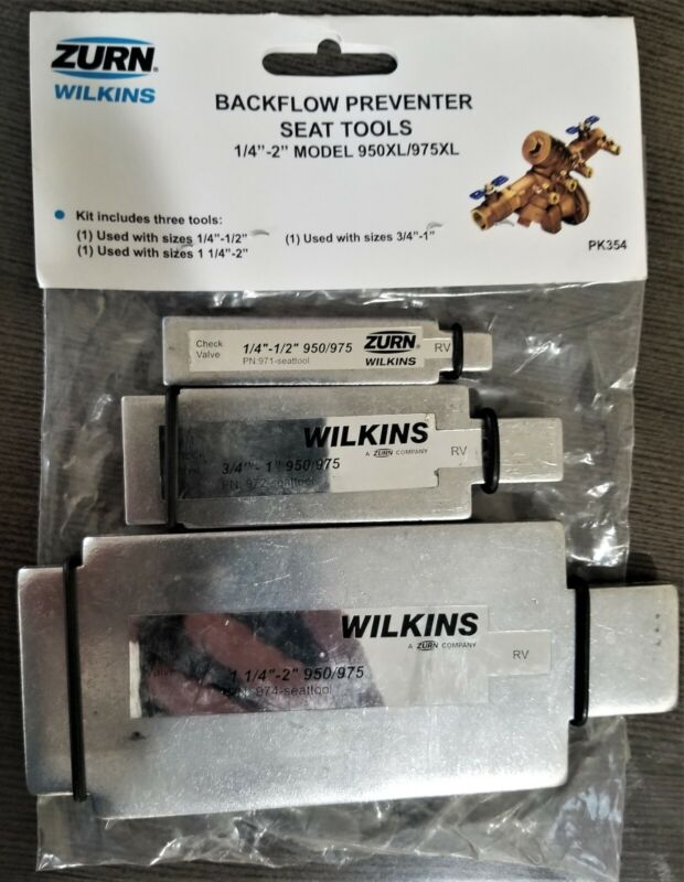 """Zurn RK-975TOOL Wilkins Complete Set of Seat Removal Tools for Models 0.25"""" - 2"""""""