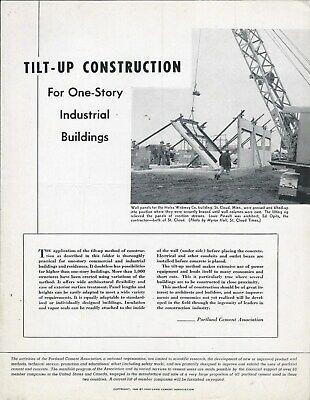 Equipment Brochure - Portland Cement Concrete Tilt-up Construction 1946 E5952