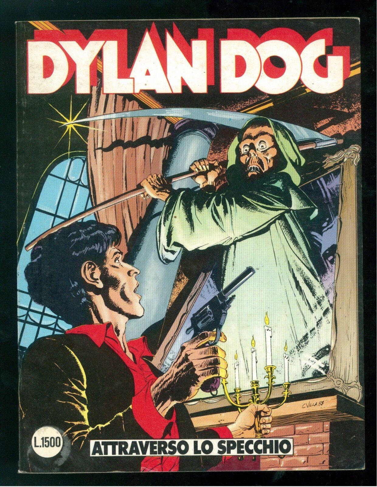 DYLAN DOG ATTRAVERSO LO SPECCHIO NUMERO 10 EDIZIONE ORIGINALE LUGLIO 1987 OTTIMO