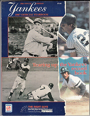New York Yankees Official Yearbook (1987 New York Yankees Official Yearbook - Ex-Mint )