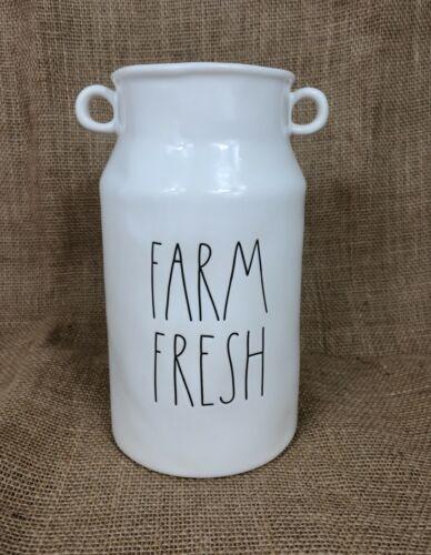 Rae Dunn Farm Fresh Vase Milk Canister Jug