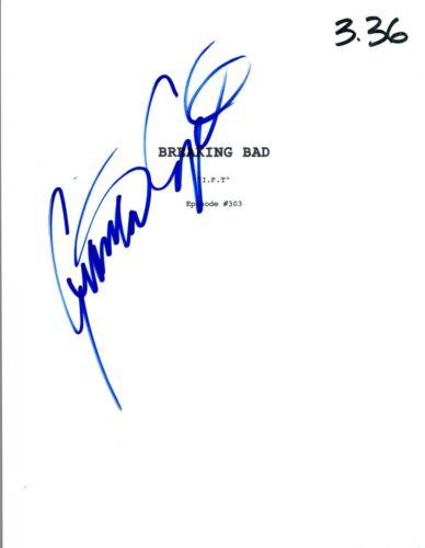 Giancarlo Esposito Signed Autographed BREAKING BAD I.F.T. Episode Script COA VD