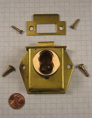Best Lock 5l6mc2-us10612 Twist Cylinder Cabinet Lock Satin Bronze Less Core