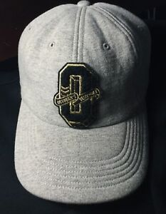 October's Very Own: Strap Back - Grey/Black/Gold