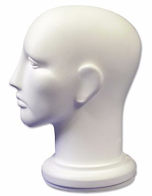 White Plastic Manikin Head