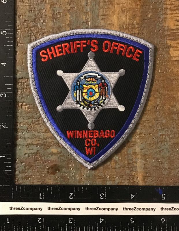 Vintage Winnebago County Wisconsin Sheriff's Office Police Patch WI
