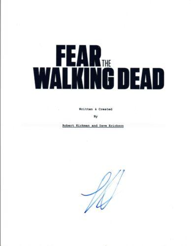 Lorenzo James Henrie Signed Autograph FEAR THE WALKING DEAD Pilot Script COA VD