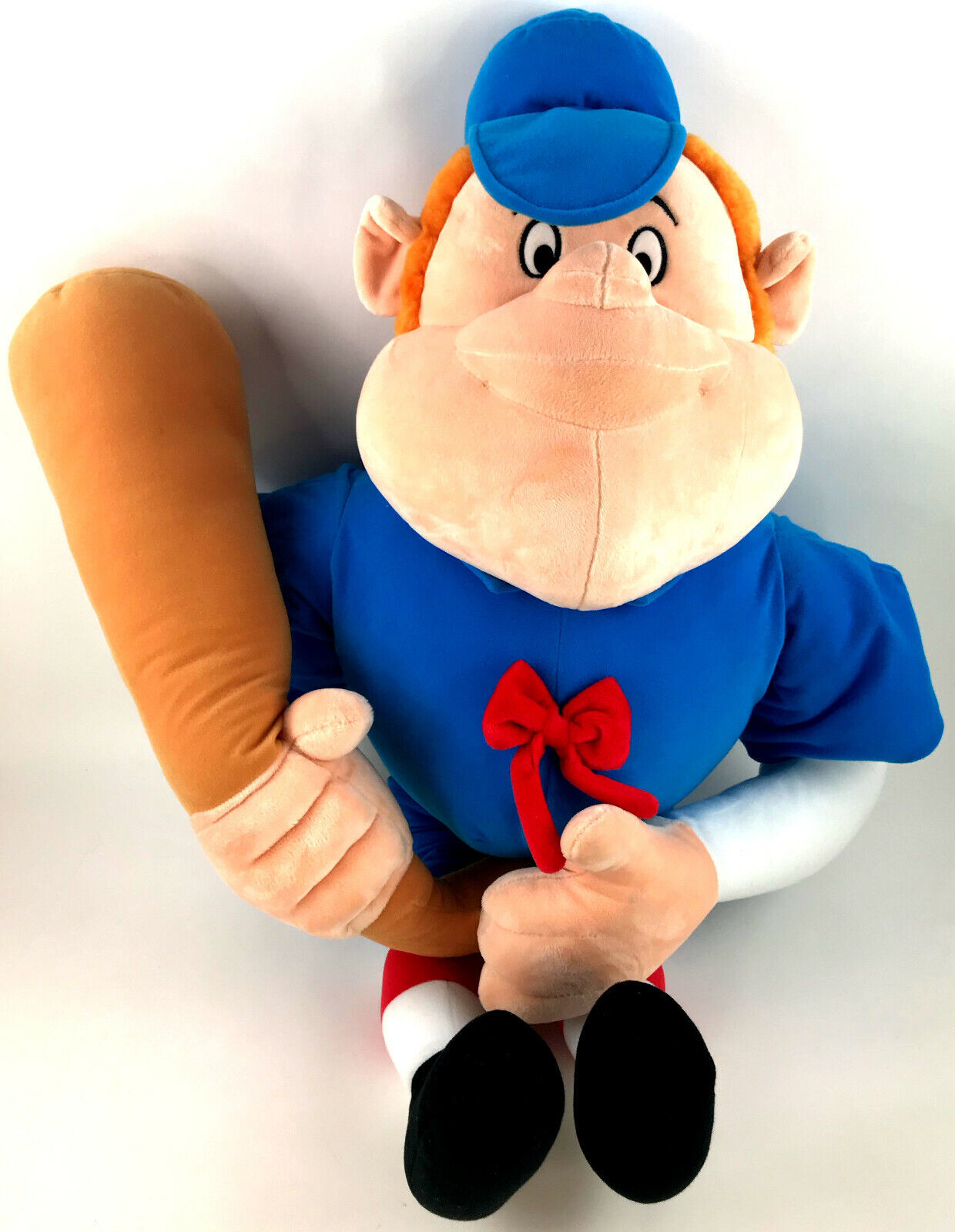 Disney Parks Casey At Bat Plush Stuffed Doll Toy Lg 34 In With Hang Tush Tags - $0.99