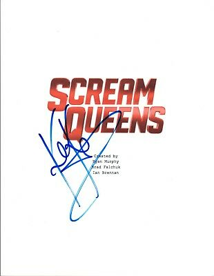 Keke Palmer Signed Autographed Scream Queens Pilot Episode Script Coa Vd