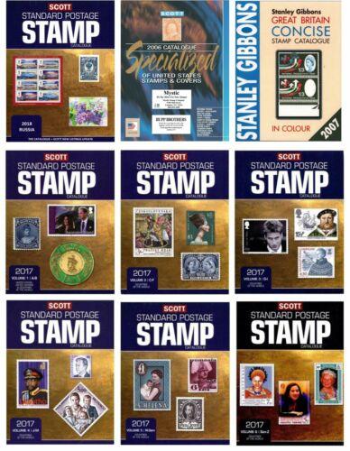 SCOTT Stamp catalog set Download now! PDF
