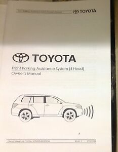 Toyota Kluger parking sensors Grandchester Ipswich City Preview
