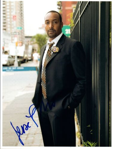 Jesse L Martin Signed Autographed 8x10 Photo The Flash Rent Law & Order COA VD