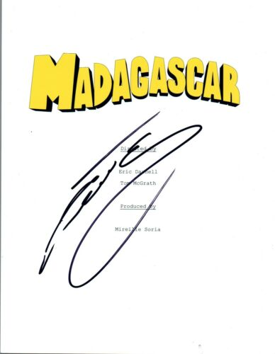 Cedric The Entertainer Signed Autographed MADAGASCAR Movie Script COA
