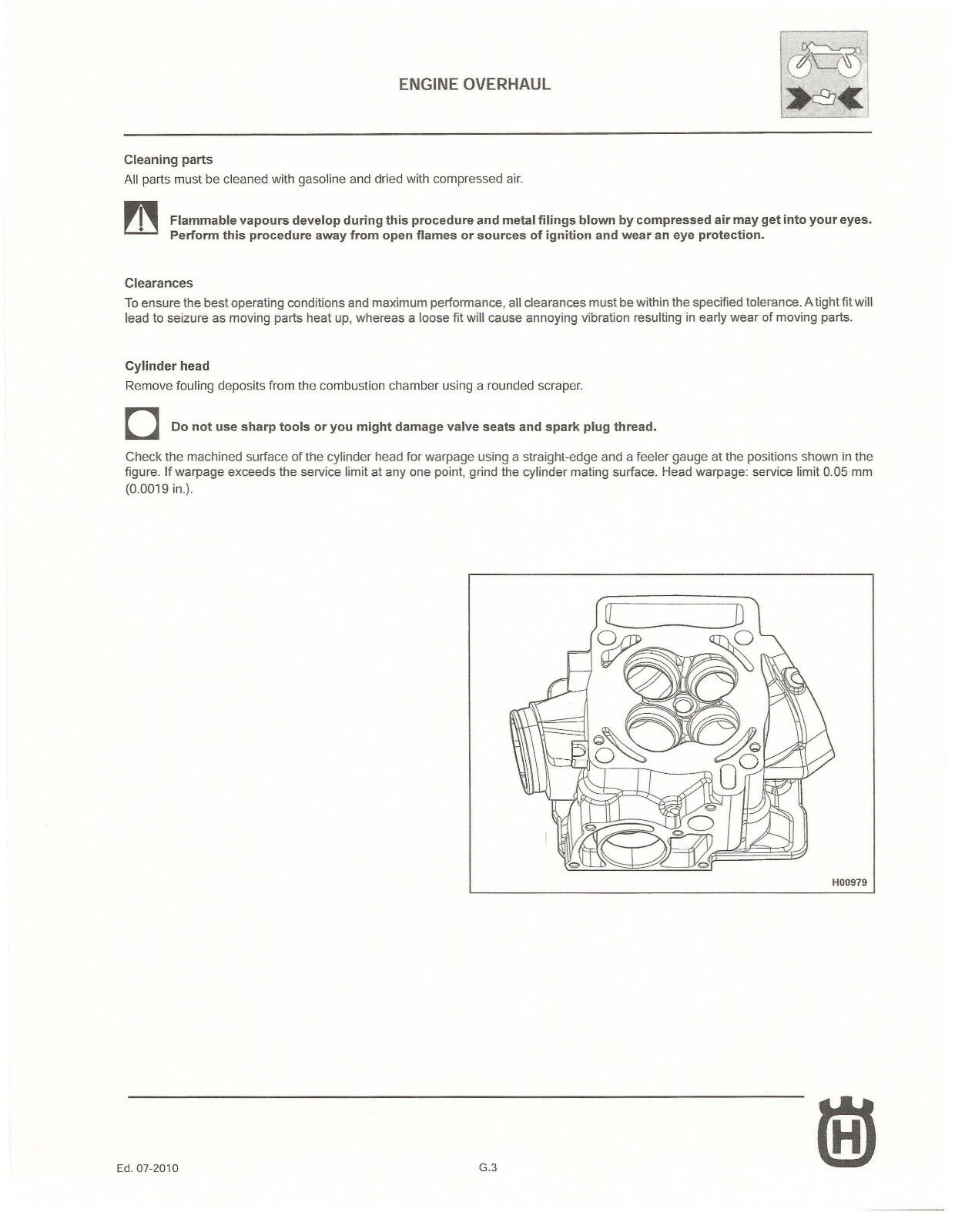 ... workshop service manual 2011 TC 250 3 of 12 Husqvarna ...