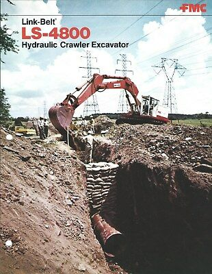 Equipment Brochure - Link-belt - Ls-4800 - Hydraulic Excavator - 4 Items E4684
