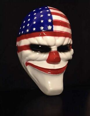 Halloween Payday 2 (GAME PAYDAY 2 THE HEIST DALLAS MASK HALLOWEEN COSTUME USA SELLER FAST)
