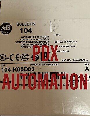 Brand New 104K05D02 Miniature Reversing Contactor Catalog 104-K05D02 Ser A