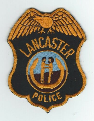 VINTAGE LANCASTER, KENTUCKY POLICE (CHEESE CLOTH BACK) patch