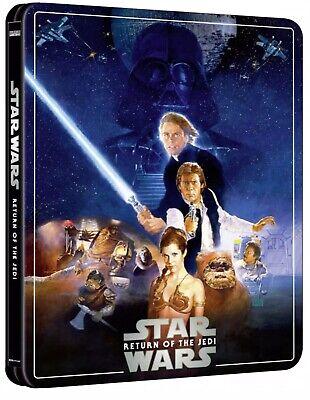 Star Wars Episode VI Return Of The Jedi (4K Ultra HD Steelbook) *PRE ORDER*