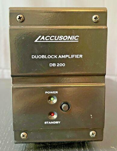 Accusonic DB 200 Duoblock Amplifier