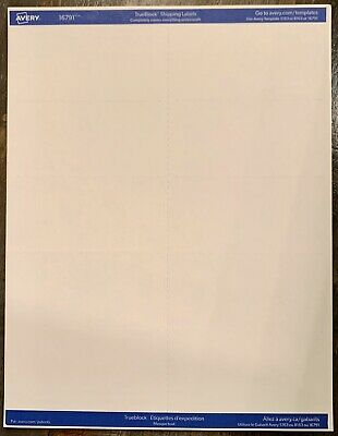 100 Count Of Avery 5163 8163 White Shipping Labels 2 X 4 Laser Or Inkjet
