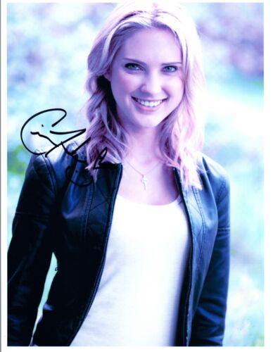 Ciara Hanna Signed Autographed 8x10 Photo Power Rangers Megaforce Yellow COA VD