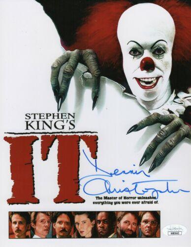"""Dennis Christopher Autograph Signed 8x10 Photo - It (1990) """"Eddie"""" (JSA COA)"""