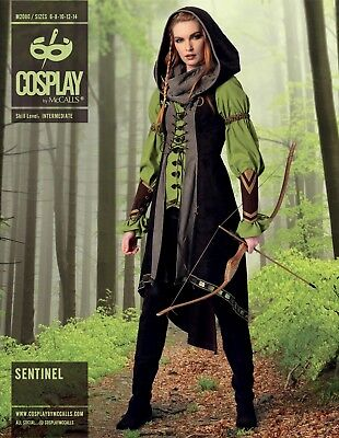 Cosplay Schnittmuster Damen Elben Kostüm  (Cosplay Kostüm Muster)