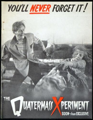 QUATERMASS EXPERIMENT 1955 Richard Wordsworth Brian Donlevy TRADE ADVERT