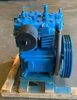 Rebuilt Curtis-toledo D97a 6-14 3-38 Bore Two Stage Air Compressor Pump