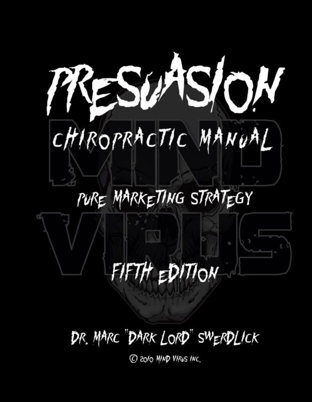 Presuasion V Chiropractic Manual Brand New Book FREE SHIPPING