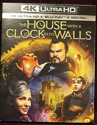 THE HOUSE WITH A CLOCK IN ITS WALLS (2018) 4K ULTRA+BLU-RAY+DIGITAL! NEW!](Spooky In Spanish)