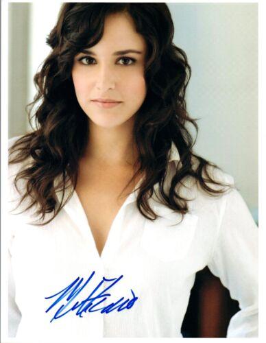 Melissa Fumero Signed Autograph 8x10 Photo Brooklyn Nine Nine Gossip Girl COA VD