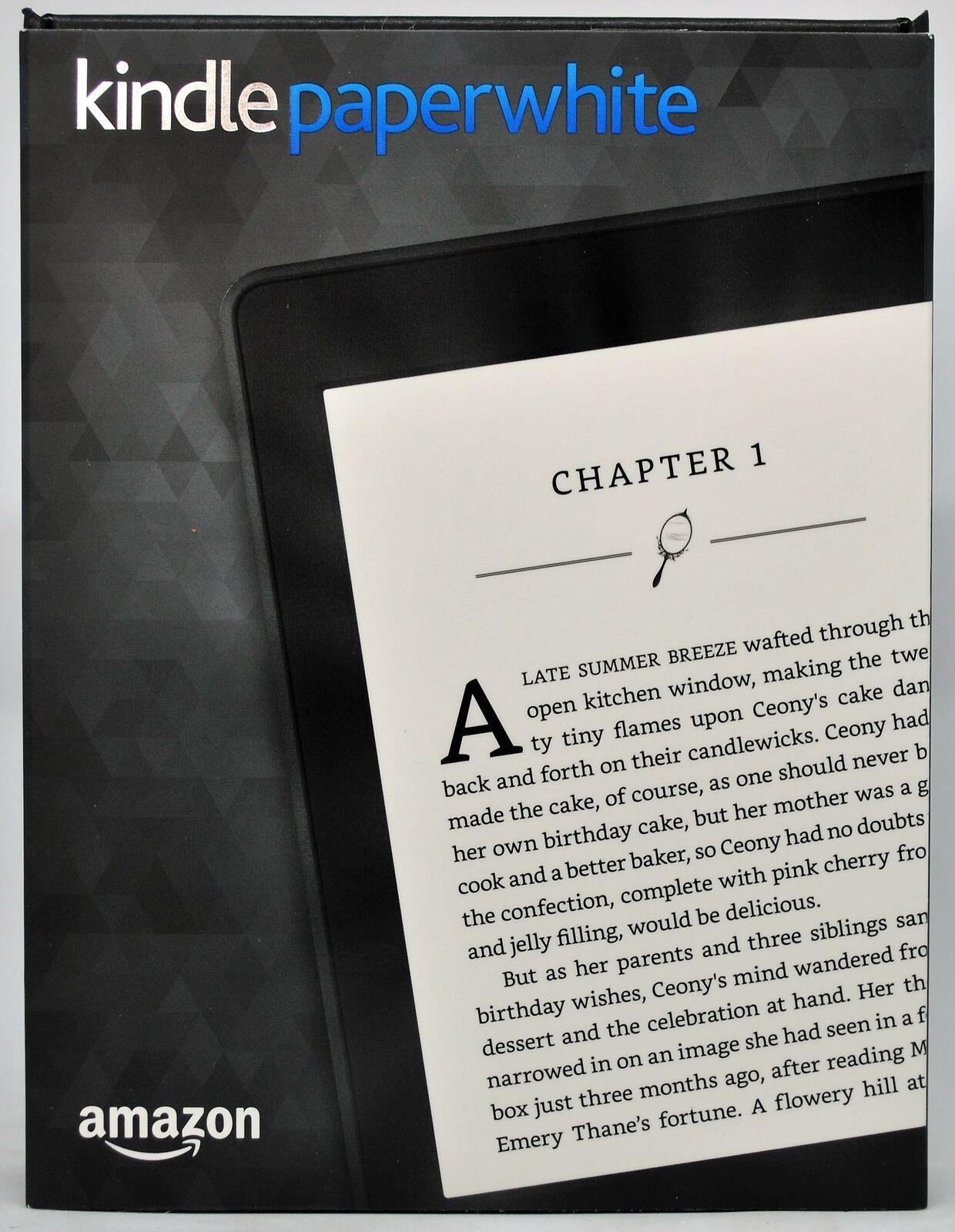 Kindle blanc papier 2016 4gb wlan ereader, Éclairage, noir - révision générale