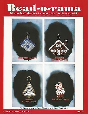 Bead O Rama Vol. 1 - Vintage Beading Instruction Patterns