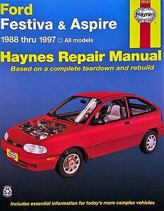 ford festiva parts haynes repair manual 36030 ford festiva aspire 1988 1997