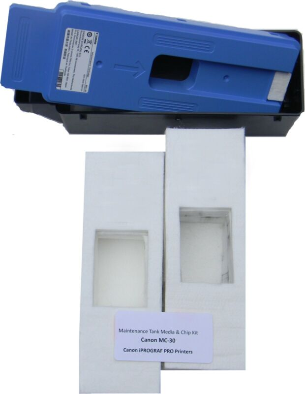 Canon MC-30 Maintenance Cartridge Absorbent Media only- 2 sets