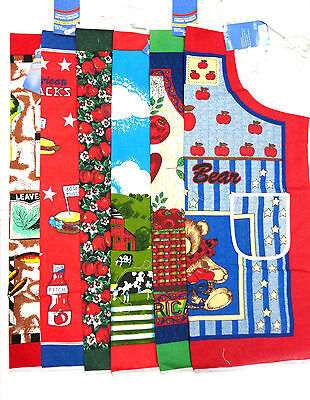 Kitchen Apron Fabric Print 2 Pockets Spring Summer Fall Winter Holiday Cooking