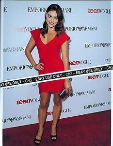 PHOEBE TONKIN SEXY!! COLOR 8x10 PHOTO SEXY RED DRESS!!