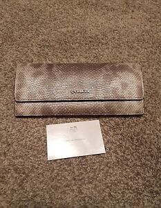 Gorgeous Authentic Coach Python Wallet NEW!!!