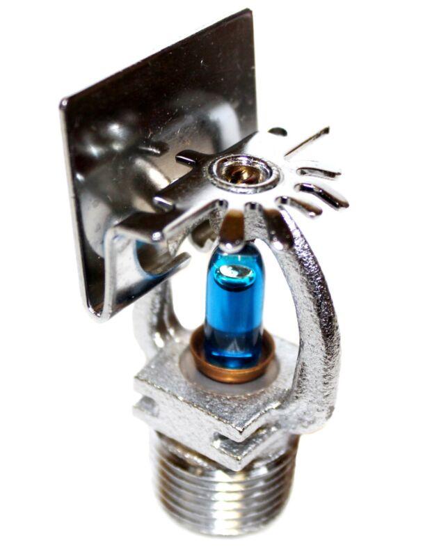 "Chrome Horizontal Sidewall Fire SprinklerHead 1/2"" NPT,286*F  K= 5.6 UL/FM"