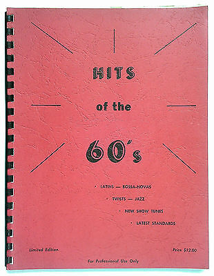 Fake Book -  Hits of the 60's -  For Guitar and Piano. on Rummage