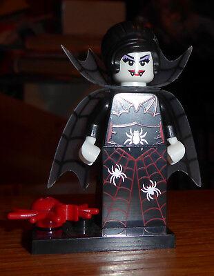 Lego - Halloween - Minifigures Series 14 - Spider Lady - Complete - Retired - Lego Minifigures Series 14 Halloween