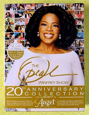The Oprah Winfrey Show   20Th Anniversary Collection  Dvd  2005  6 Disc Set  New