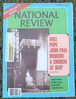 National Review Magazine - Nov 25, 1983 - Vol. XXXV, No. 23 - Catholicism Today ()