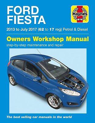 6407 Haynes Ford Fiesta Petrol & Diesel (2013 - 2017) Workshop Manual