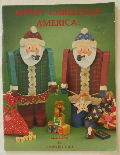 Decorative Painting Pattern Book MERRY CHRISTMAS AMERICA! by Susan Jill Hall