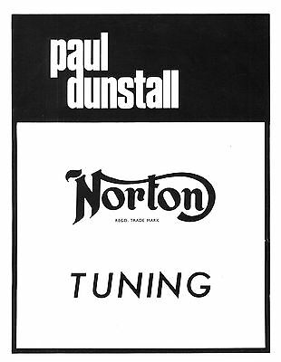 Paul Dunstall Tuning Manual for 650-750cc models